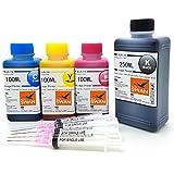 BLUE SWAN 550g Nachfülltinte für Canon Druckerpatronen Canon PG-545 CL-546 Pixma MG 3053 MX 494 MX 495