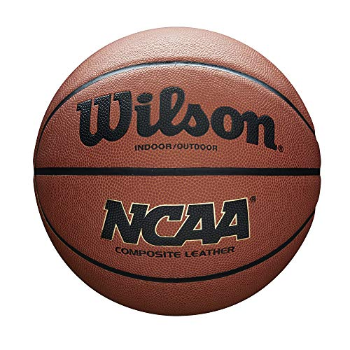 WILSON NCAA Composite Basketball, Unisex-Erwachsene, NCAA Composite Basketball, Orange, 29.5
