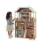 KidKraft 65956 Charlotte Puppenhaus aus Holz mit Zubehör für 30