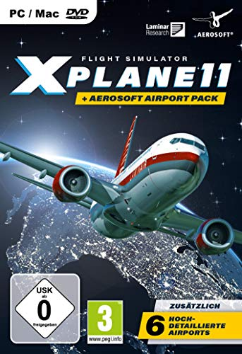 XPlane 11 + Aerosoft Pack - PC [Edizione: Germania]