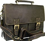 Visconti New Braun Vintage Stil Hunter Leder Work Business Aktentasche Tasche 18716