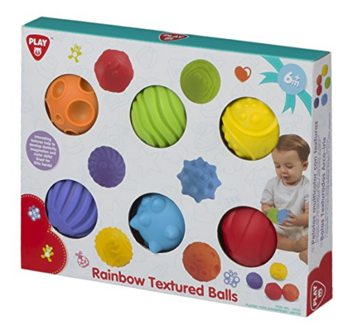 ColorBaby - Caja set 6 pelotas diferentes texturas, 35 x 20 cm (44562)