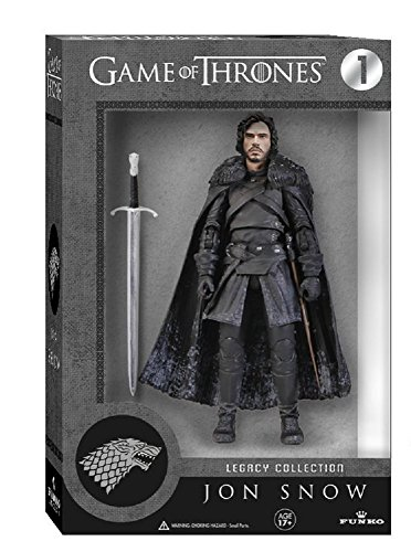 Funko 3908 Game of Thrones Toy - Jon Snow Deluxe Collectable Action Figure - Knights Watch 2