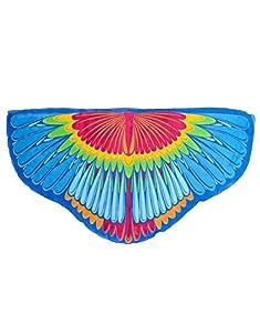 DREAMY DRESS-UPS 64007Scarlet Macaw alas para niña (Talla única)