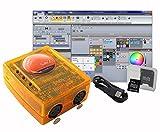 Dmx-Konsole, USB-Konsole, Suite2-FC + 3x512CH Dmx512 USB-Desktop-Steuerungssystem, gelten für Windows7, Windows8, Windows10, verwenden für die Bearbeitung von Programm der Bühnenbeleuchtung Runing