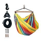 LA SIESTA - Kinderhängestuhl IRI Rainbow inkl. Befestigungsset