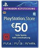 PlayStation Live Card EUR 50 (für deutsche SEN-Konten)
