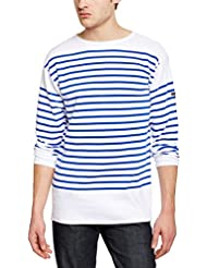 Armor Lux 01140 - T-shirt - À rayures - Manches longues - Homme