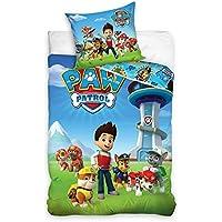 SM Paw Patrol Housse de couette simple Parure de lit pour enfant 100% coton  140 f2929f039985