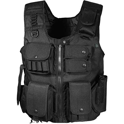 UTG taktische Weste Law Enforcement Swat Vest, Schwarz, One size, PVC-V548BL