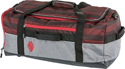 Nitro Reisetasche Team Duffle Red Stripes
