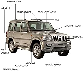 Woodman Mahindra Scorpio 2009 Chrome Accessories