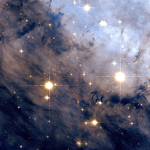 Hubble Teleskop-Eagle Nebula Space Poster Print, Up to 594mm by 841mm or 23.4