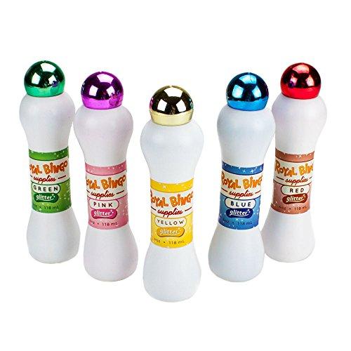 Royal Bingo suministros brillo neón de Bingo Daubers (Set de 5) - GBIN-451-455, Mixto