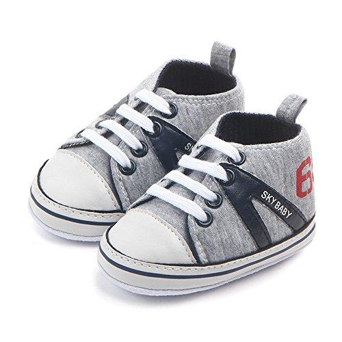 ab215dfbc0517c Elecenty Neonato Unisex in cotone Morbida High Help Letter Calda scarpa  antiscivolo per scarpe