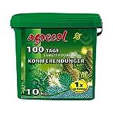 Premium Langzeitdünger für 100 Tage - Koniferendünger für alle Nadelgehölze 10Kg für 260 Pflanzen - NPK-Dünger 15-5-20