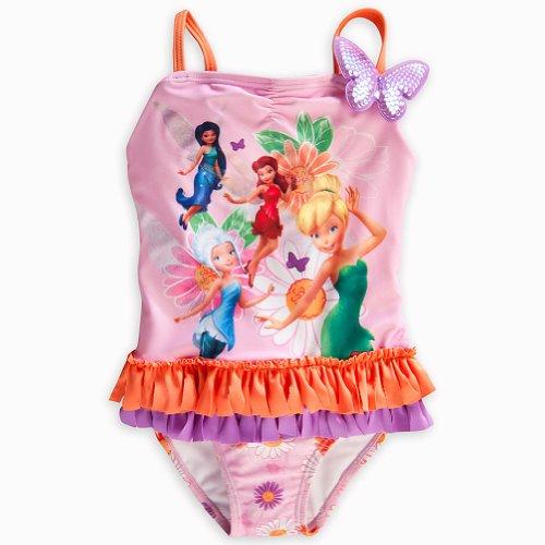 Store Fairies Badeanzug klein 5/6 Tinkerbell / Immergr¨¹n / Rosetta / ()