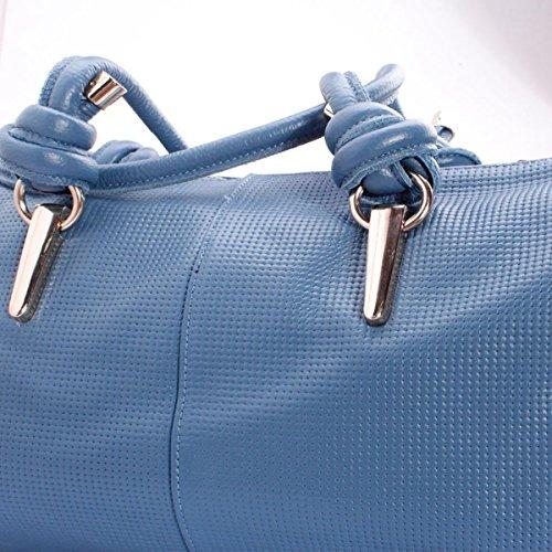 BHUE Womens Handtasche Mode Damen Tasche Schulter Hand Spieß Satchel Mädchen Party Retro Damen Mode Damen Tasche Blue