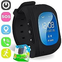 Reloj para Niños,TURNMEON® Kids Smartwatch GPS Tracker Localizador(SIM Call,GPS,SOS) Compatible con Android/IOS Smartphone