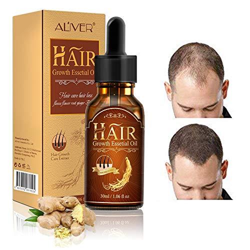 Hair serum,Sérum capillaire,Sérum de croissance des cheveux,cheveux plus sains,essences nourrissantes pour les soins capillaires,huile capillaire pour cheveux sains et solides