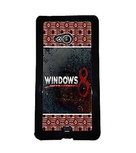 PrintVisa Metal Printed Quotes Designer Back Case Cover for Microsoft Lumia 540 Dual Sim-D4723