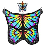 Best Family Halloween Costumes - BESTOYARD Chiffon Beach Towel Butterfly Pattern Beach Shawl Review