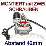 Unbranded VERGASER 12mm Auto Choke für Benelli Pepe ab Bj. 2003 Suzuki AY50 AY Katana 50