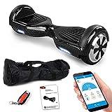 Smartway Balance Scooter 6, 5 Zoll 600W-Motion V.5 mit App Funktion, Bluetooth Lautsprecher, Kinder...