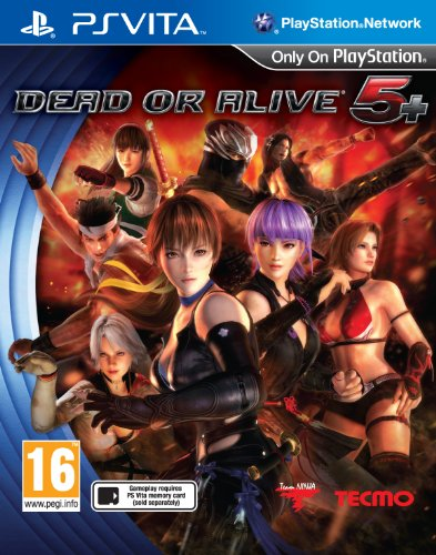 Tecmo Koei Dead or Alive 5 Plus, PS Vita PlayStation Vita vídeo - Juego (PS Vita, PlayStation Vita, Lucha, M (Maduro), Team Ninja, 22/03/2013, Tecmo Koei)