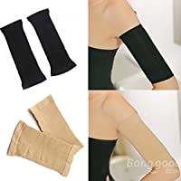 mark8shop 2 Pcs Deportes Fitness Slimming Brazo Shaper Cinturón Banda