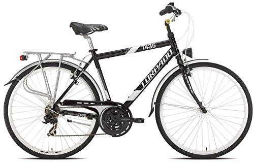 CITY SOCIOS TORPADO BICICLETA 28 ALU 3 X 7 V  TALLA 56  COLOR NEGRO/BICYCLE (CITY) CITY SOCIOS 28 ALU 3 X 7 S SIZE 56 (BLACK CITY)