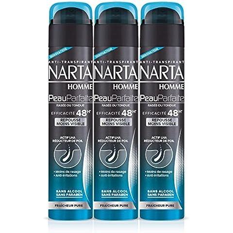 Anti traspirante Deodorante Spray Perfect Skin Man Rasato Marta si