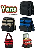 Yens® Fantasybag Chill Insulated 6 Pack Cooler-Black,CP-6606