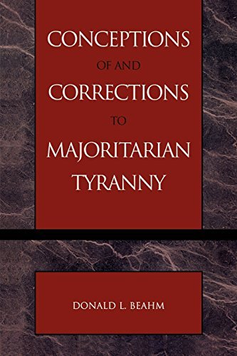 Conceptions of and Corrections to Majoritarian Tyranny by Donald L. Beahm (2003-03-03)