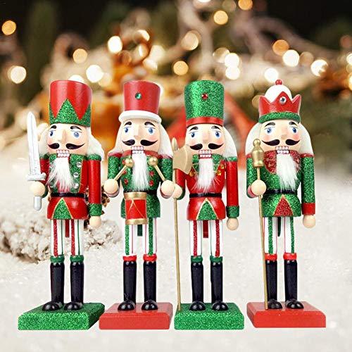Saints Kostüm Patron - HELING Nussknackersoldat, Clever Creations Holzsoldat Deko Geschenk Nussknacker | Festliche traditionelle Weihnachtsdekoration | Neue Marionette für Jede Ferienkollektion