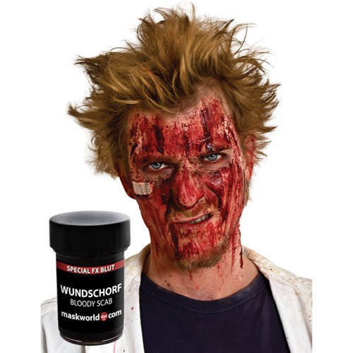 Wundschorf - verkrustetes Kunstblut Halloween Make-Up
