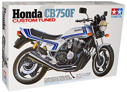 Honda CB750F Custom Tuned Weiss 14066 Kit Bausatz 1/12 Tamiya Modell Motorrad Modell Auto