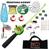 #6: Mini Ice Fishing Rod, Reel, Accessories Complete Kit