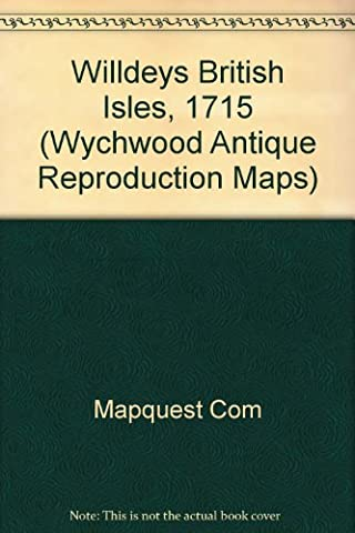 National Geographic Willdey's British Isles - 1715 Tubed