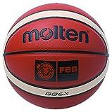 Molten BGG6x Ballon de basket-ball, femme, marron, 6