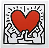 Affiche 30x30 cm Untitled, 1988 Keith HARING (1958-1990)
