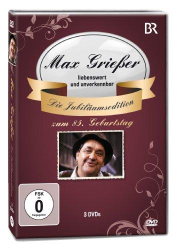 Max Grießer Jubi.Ed./3DVD