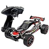 Rennwagen , Amamary ⌒ω⌒ CR 2,4 GHz 1:20 Ferngesteuerte Racing Buggy Auto verrückt Geschwindigkeit RC Off-Road-LKW mit 4-Rad-Stoßdämpfer Leistungsstarke Batterie Aggressive Driften / Stunts Auto RTR (rot)