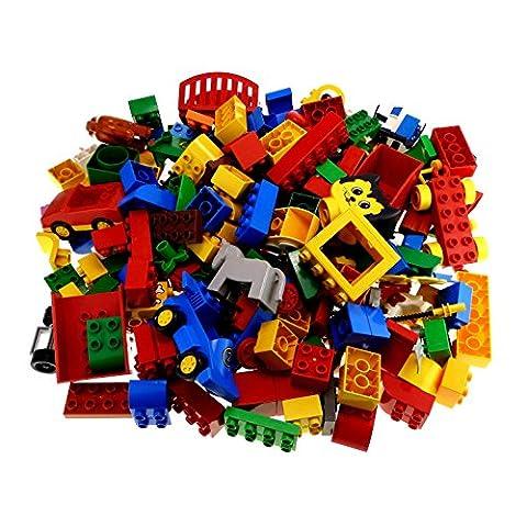 2 Kg Lego Duplo Steine Basicsteine Sondersteine zufällig bunt gemischt k1