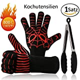 Best Guantes Grill - Juego de Barbecue Grill Guantes & silicona Kitchen Review