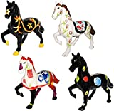 """"""" Pferd - HANDBEMALT """" - Spardose / stabile Sparbüchse - aus Porzellan / Keramik - Sparschwein - Mädchen & Jungen - Geldgeschenk - Urlaub - Pferde / Reiter - Tiere - Design Figur - Geld - Reisekasse / Kinder"""