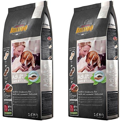 2 x 15 kg Belcando Lamb & Rice