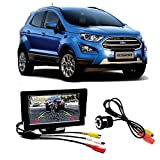 #5: Fabtec Premium Quality 5.0 inch Full Hd Dashboard Screen with LED Night Vision Water Proof Car Rear View Reverse Parking Camera Free for Ford Ecosport