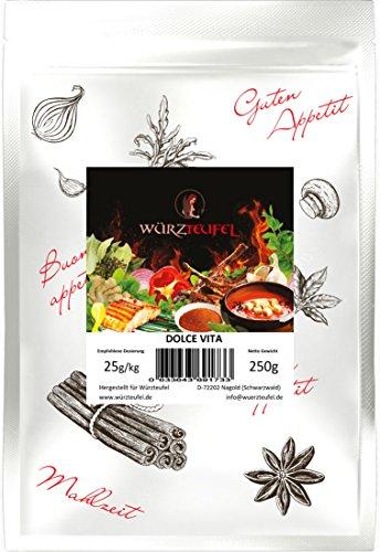 DOLCE VITA Gewürzzubereitung für Steak & Schaschlik, Grillgewürz, Grill - Gewürz Beutel 250g.