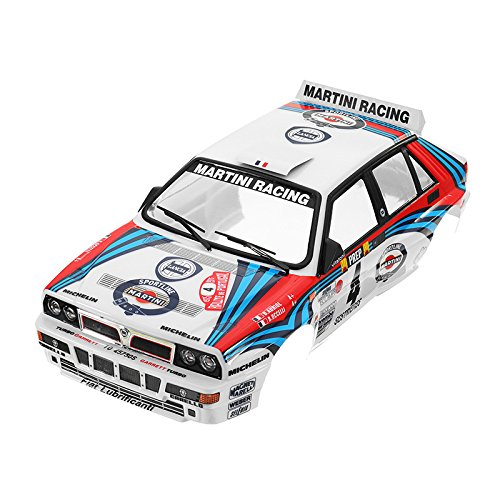 LaDichaKillerbody Car Shell 48248 Lancia Delta Rally-Racing Bedruckt 1/10 Electric Touring RC Car Parts